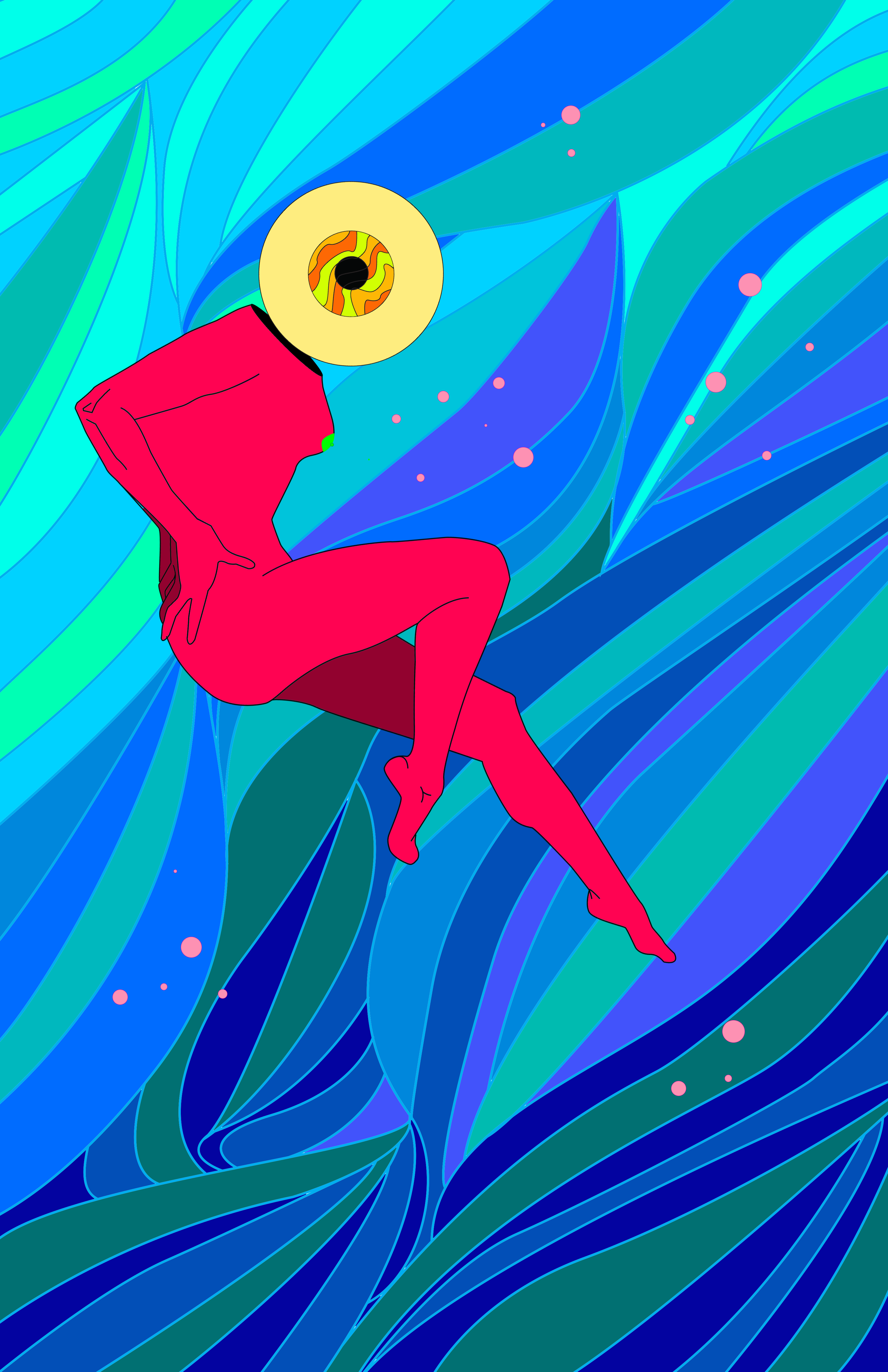 Psychedelic Sex Eyeball