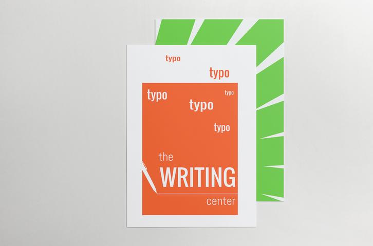 CalArts Writing Center Poster