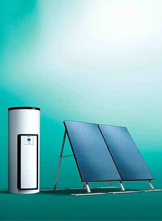 Незакипающие солнечные системы для приготовления горячей воды auroSTEP plus