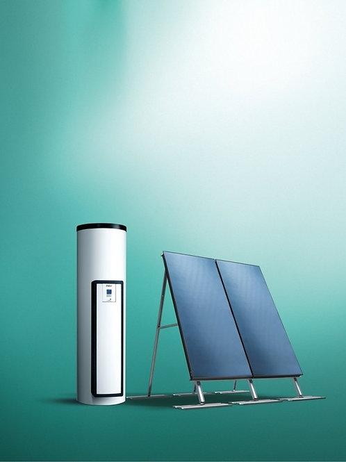 ПАКЕТ №8 - Солнечная установка auroSTEP plus/4 2.250 VT (наклонная крыша)