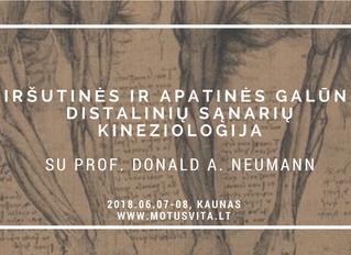 Prof. Donald A. Neumann seminaras