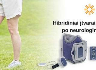 Hibridiniai įtvarai reabilitacijai po neurologinių pažeidimų