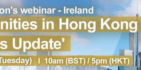 Hong Kong opportunities - Business update