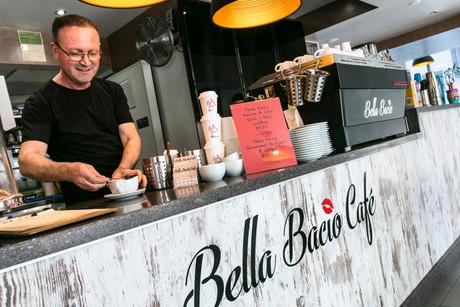 MEET GEORGE FROM BELLA BACIO CAFE!