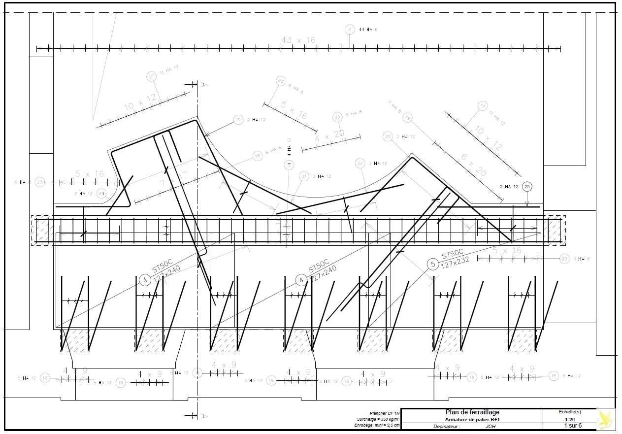 Structure béton armé