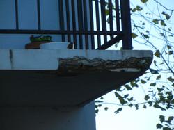 Balcon dégradé