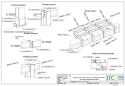 Plan construction métallique