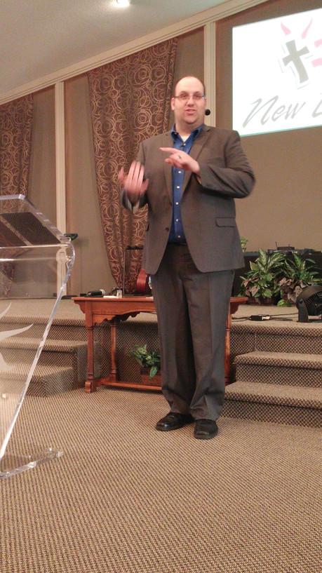 Rev. Greg Bussell