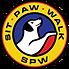 Sit, Paw, Walk logo