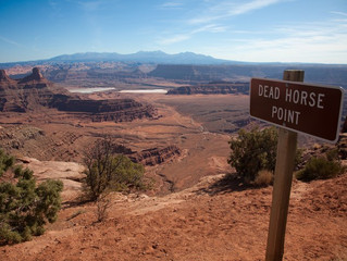 """Dead Horse Point State Park- The """"Hole"""" Story"""