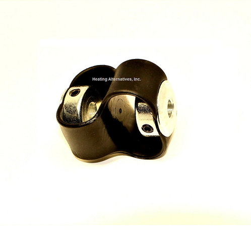 Flexible Coupling 112042 - figure 8 coupling, waste oil heater part #112042