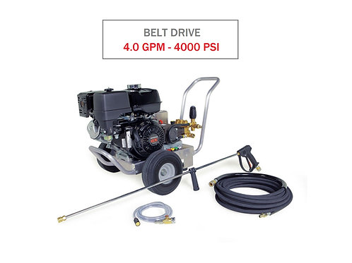 Hotsy HD Series 4.0 GPM @ 4000 PSI (Belt Drive) - Cold Water Power Washer