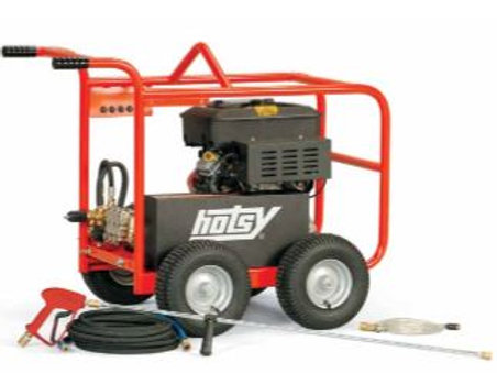 3.4 to 4.5 GPM & up to 5000 PSI - Cold Water Power Washe- HotsyBD & HDD Series