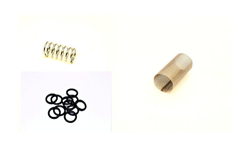 Reznor 110235,110236 & 110237 -Waste Oil Heater Screen, Spring and O-ring.