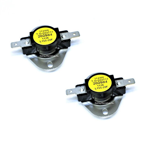 Reznor Limit Control High Limit Switch 202584 - 2 pk or 4 pk