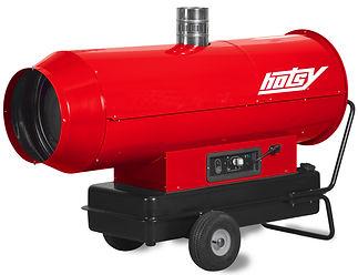hotsy heat cannon fuel fired indirect po