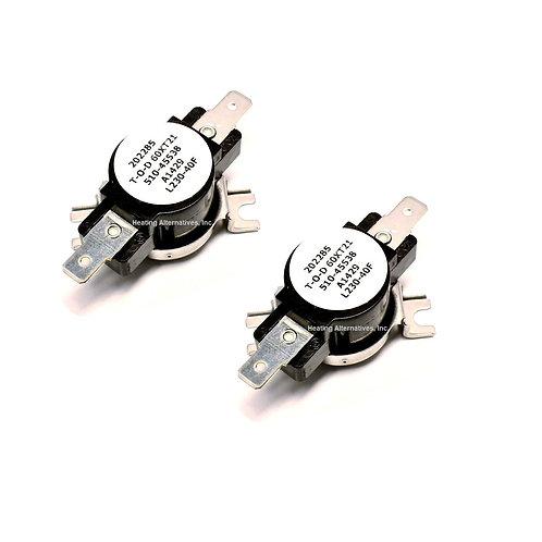 Reznor Limit Control 045538 60T-21-230D - 2 Pack