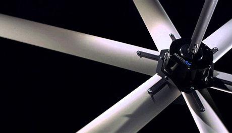 Industrial Macroair Fans 12ft To 24ft Hangars Gyms
