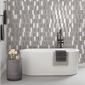 How subway tiles or hexagon tiles will improve the best bathroom remodel in Katy, and Beyond