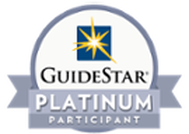 What is GuideStar Platinum rated?