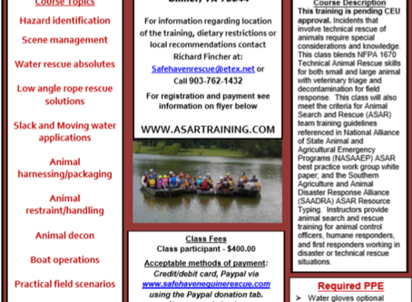 Floodwater/Surface Water Training Course