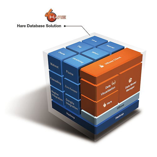 The best solution to extend your relational database to hybrid noSQL database.The Structure of the HareDB solution is shown as below.