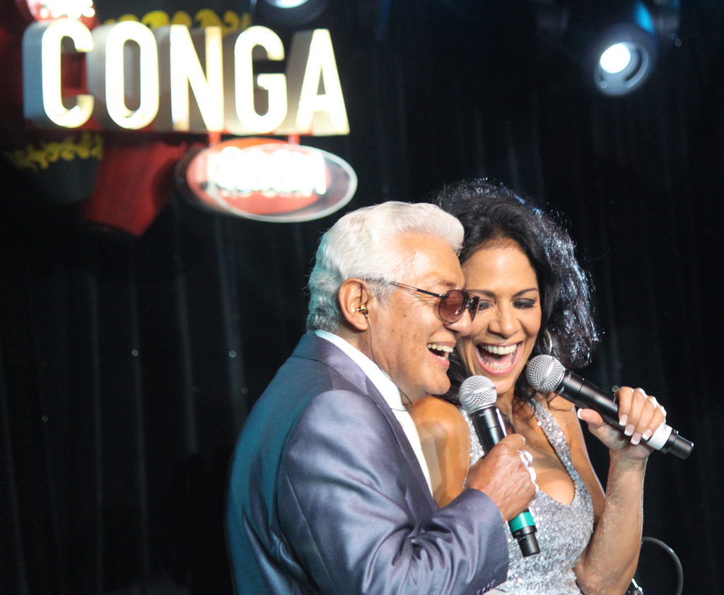 Pete Escovedo and Sheila E