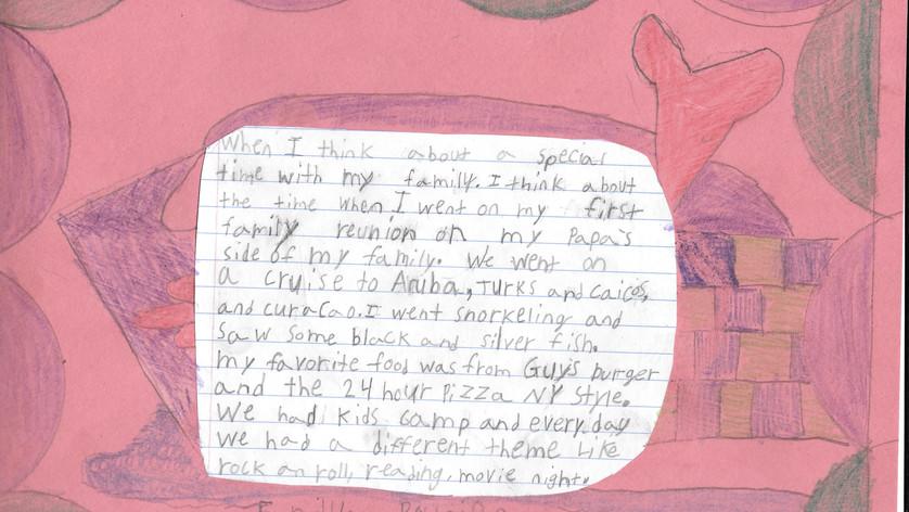 Demetris Jones - 3rd Grade Story Quilts.