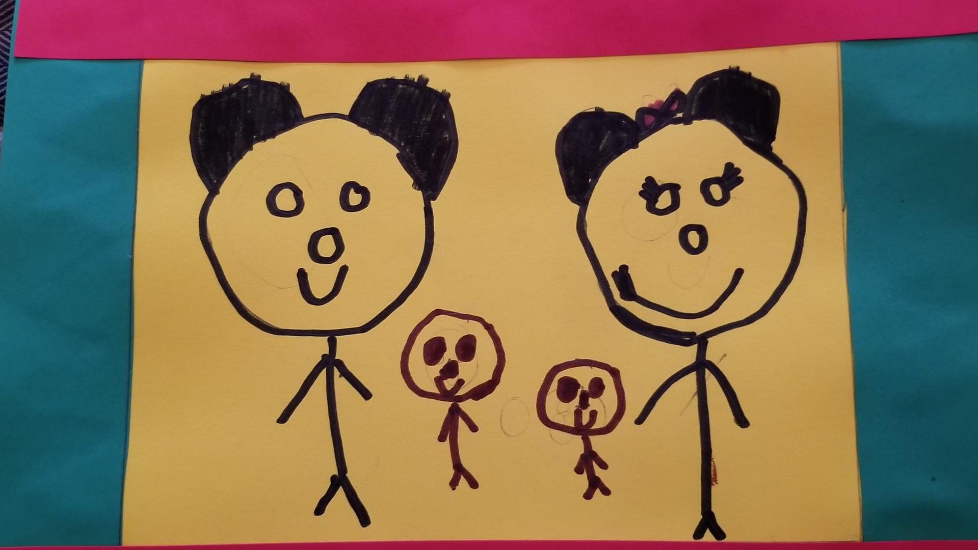 Dale Cordice Kindergarten  Story Quilts.