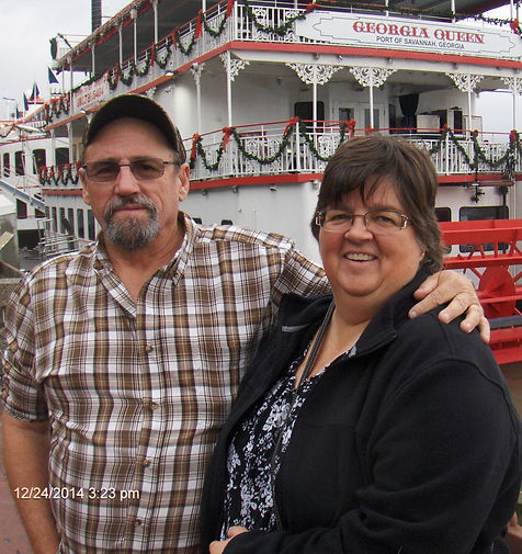 Bruce and I during our trip to Savannah, GA.