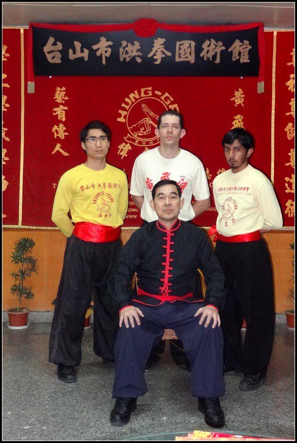 Irmãos de Kung Fu e GM Frank Yee