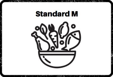 Construye tu plato standard M