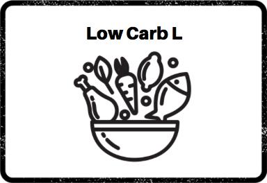 Construye tu plato Low Carb L