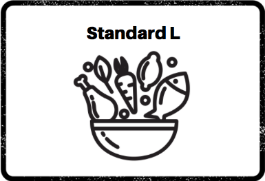 Construye tu plato standard L