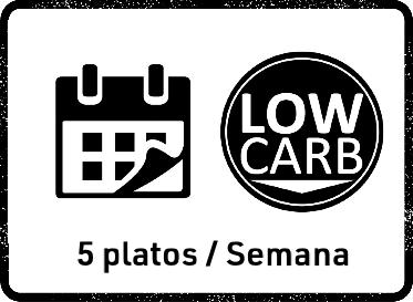 22 Feb Pack Mensual Low Carb (5 platos)