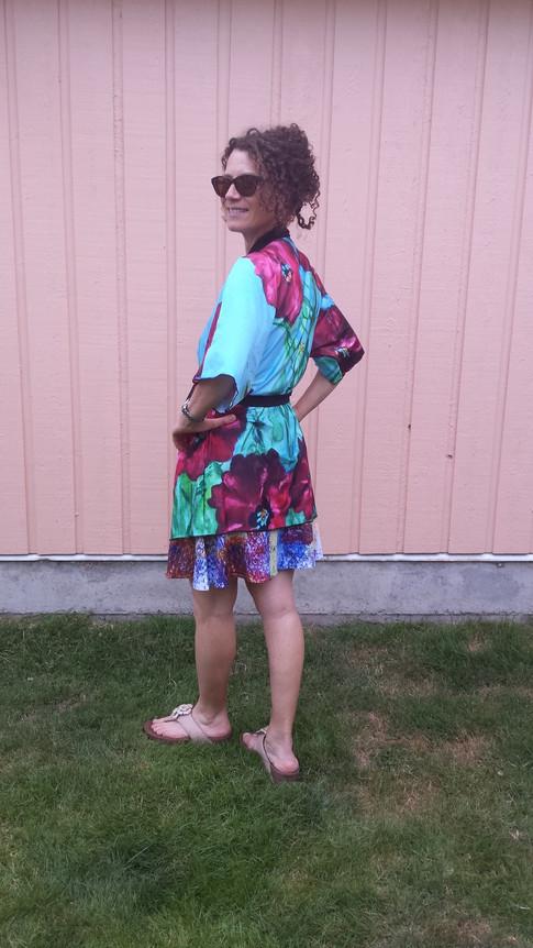 Poppy Kimono