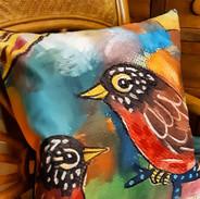 Robins Cushion Cover
