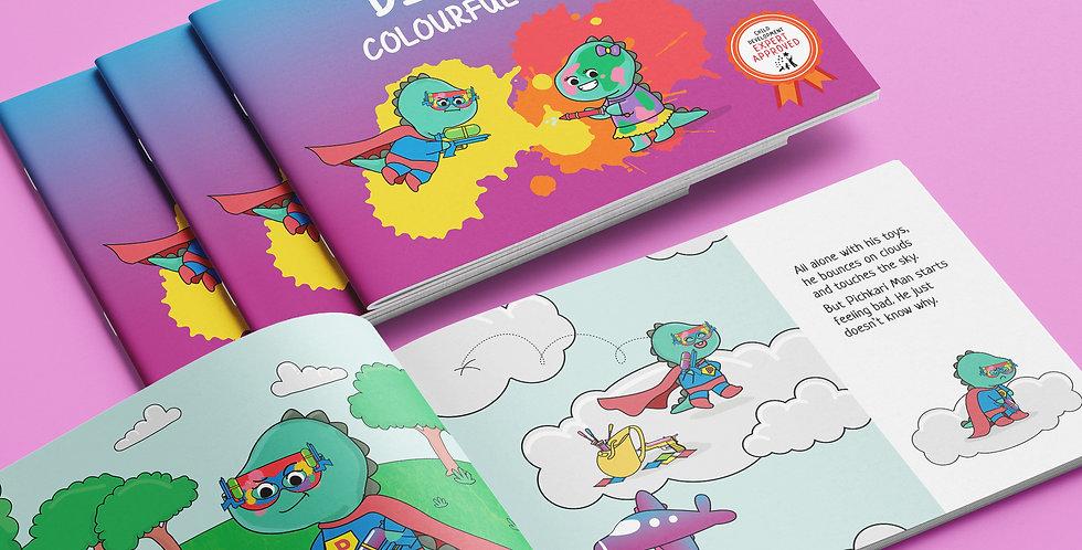Dinku's Colourful Holi