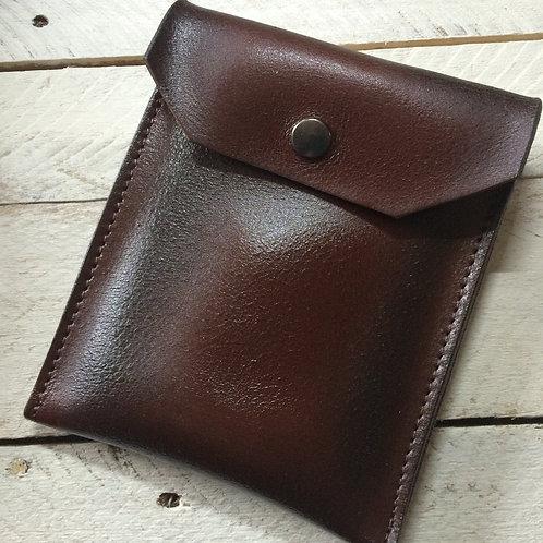 Angels' Share Leather Flask Holder (Dark Brown)