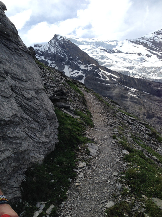 Direction BalmhornHutte, Au-dessus de Kandersteg, Suisse