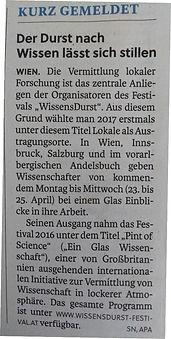Salzburger Nachrichen, 21.04.2018