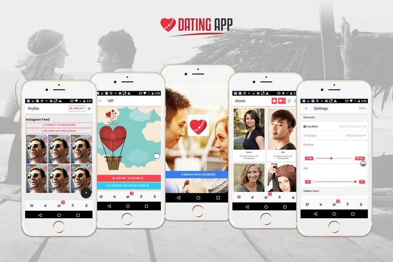 VIP dating app