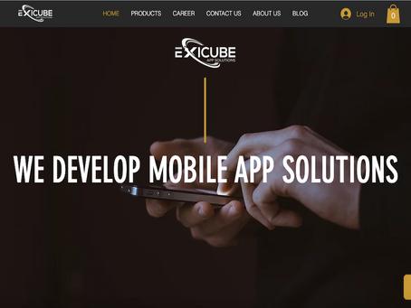 Redesign of Exicube Website