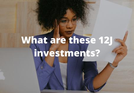 What are these 12J investments you keep hearing about?