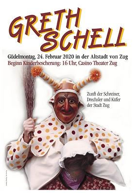 Plakat Greth Schell 2020