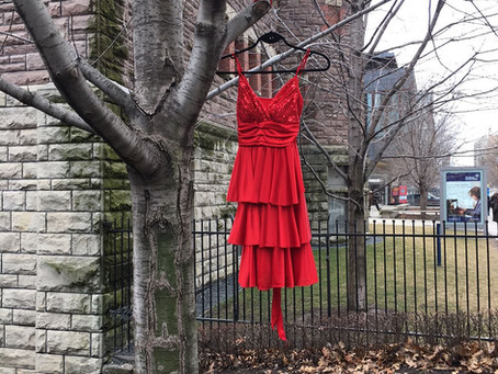 Honouring Red Dress Day