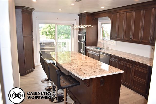 This fully customized kitchen by G&H cab