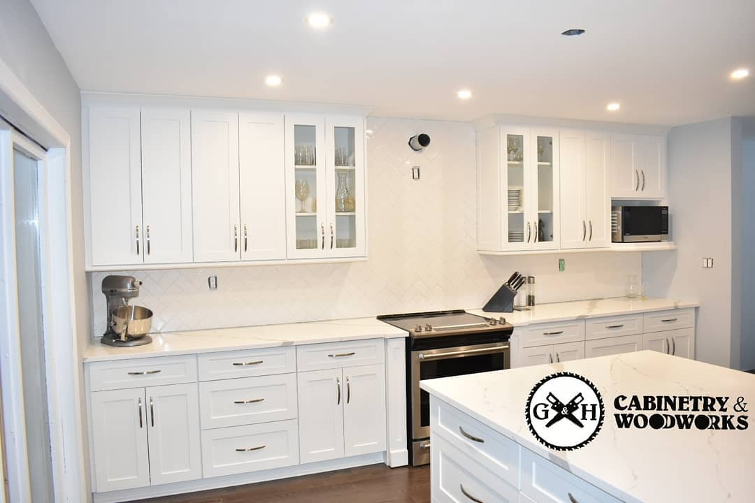 Georgetown white kitchen 5