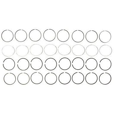 MAHLE 41768.04 COMPLETE PISTON RING SET (.040)