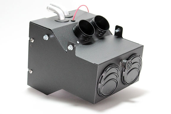 Polaris RZR 570 Cab Heater with Defrost for Machines without Powersteering (2012